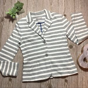 Gap cotton Striped Blazer
